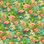 Flamingo Paper - Lost In Paradise - Graphic 45