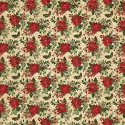 Poinsettia Paper - Christmas Memories - Photoplay