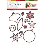 Etched Metal Dies - Christmas Memories - Photoplay