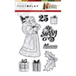 Santa Stamps - Christmas Memories - Photoplay