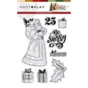 Santa Stamps - Christmas Memories - Photoplay