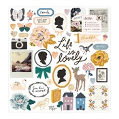 Chipboard Stickers - Heritage - Maggie Holmes - PRE ORDER