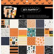 "Hey, Pumpkin 12""x 12"" Paper Pad - Crate Paper - PRE ORDER"