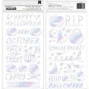 Glossy Puffy Phrase Thickers - Hey, Pumpkin - Crate Paper - PRE ORDER