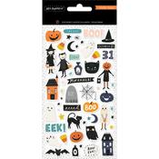 Hey, Pumpkin Puffy Stickers - Crate Paper