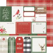 Merry & Bright Paper - Winter Wonderland - Crate Paper