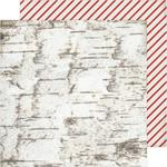 Candy Cane Forest Paper - Winter Wonderland - Crate Paper