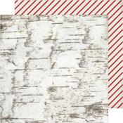 Candy Cane Forest Paper - Winter Wonderland - Crate Paper - PRE ORDER