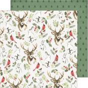 Woodland Wonderland Paper - Winter Wonderland -Crate Paper