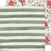 Poinsettia Lane Paper - Winter Wonderland - Crate Paper - PRE ORDER
