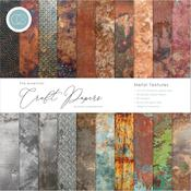 Metal Textures 12x12 Craft Consortium Double-Sided Paper Pad
