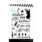 Clear Stamps - Winter Wonderland - Heidi Swapp