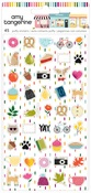 Mini Puffy Stickers - Slice of Life - Amy Tangerine - PRE ORDER