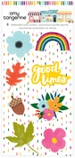 Embossed Puffy Stickers - Slice of Life - Amy Tangerine - PRE ORDER