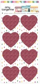 Glitter Heart Stickers - Slice of Life - Amy Tangerine - PRE ORDER