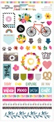 Glitter Accents Stickers - Slice of Life - Amy Tangerine - PRE ORDER