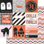 4 x 4 Elements Paper - Happy Haunting - Simple Stories - PRE ORDER