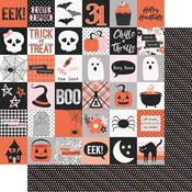 2 x 2 Elements Paper - Happy Haunting - Simple Stories - PRE ORDER