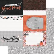 4 x 6 Elements Paper - Happy Haunting - Simple Stories - PRE ORDER