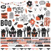 Happy Haunting Cardstock Stickers - Simple Stories - PRE ORDER