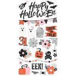 Happy Haunting Chipboard Stickers - Simple Stories