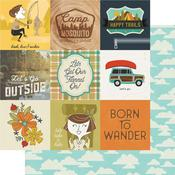 4 x 4 Elements Paper - Happy Trails - Simple Stories