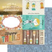 4 x 6 Elements Paper - Happy Trails - Simple Stories