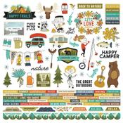 Happy Trails Cardstock Stickers - Simple Stories