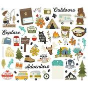 Happy Trails Bits & Pieces Die-Cuts - Simple Stories