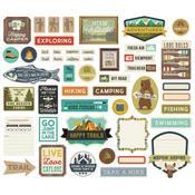 Happy Trails Tags & Frames Die-Cuts - Simple Stories