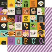 2 x 2 Elements Paper - Say Cheese Halloween - Simple Stories