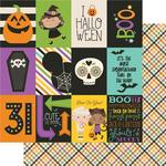 3 x 4 Elements Paper - Say Cheese Halloween - Simple Stories