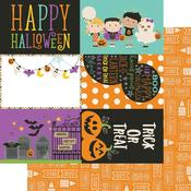 4 x 6 Elements Paper - Say Cheese Halloween - Simple Stories