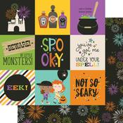 4 x 4 Elements Paper - Say Cheese Halloween - Simple Stories