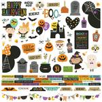 Say Cheese Halloween Cardstock Stickers - Simple Stories