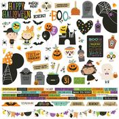 Say Cheese Halloween Cardstock Stickers - Simple Stories - PRE ORDER