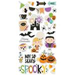 Say Cheese Halloween Chipboard Stickers - Simple Stories