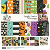 Say Cheese Halloween Simple Stories Collection Kit - Simple Stories