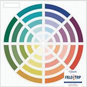 Color Wheel Shimelle Field Trip Die-Cut Paper