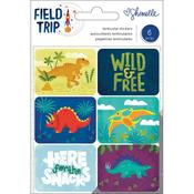 Dinosaurs Shimelle Field Trip Lenticular Stickers