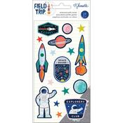 Shimelle Field Trip Embossed Puffy Stickers