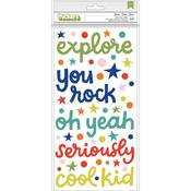 Genius Phrases & Puffy Shimelle Field Trip Thickers Stickers