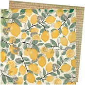 Lemon Spritz Paper - Wildflower & Honey - Vicki Boutin