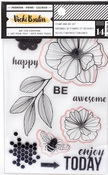 Wildflower & Honey Stamps & Dies - Vicki Boutin