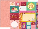 Truly Grateful Paper 1 - Pink Paislee
