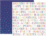 Truly Grateful Paper 13 - Pink Paislee