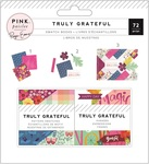 Truly grateful 2 x 2 Swatch Pad - Pink Paislee