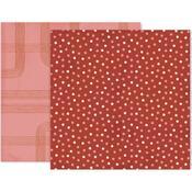Again & Again Paper 3 - Pink Paislee