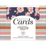 Again & Again Cards & Envelopes - Pink Paislee