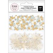 Together For Christmas Mixed Media Kit - Pink Paislee